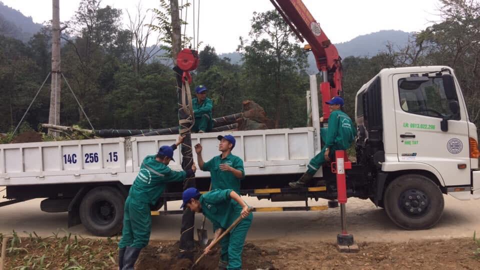 Cho thuê xe cẩu tự hành tại Cẩm Phả, Quảng Ninh
